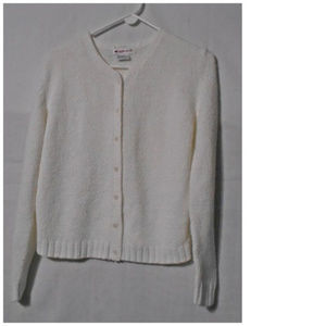 Appleseeds Sweater Womens Cardigan Small Ladies